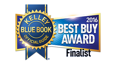 kelley blue book best buy award