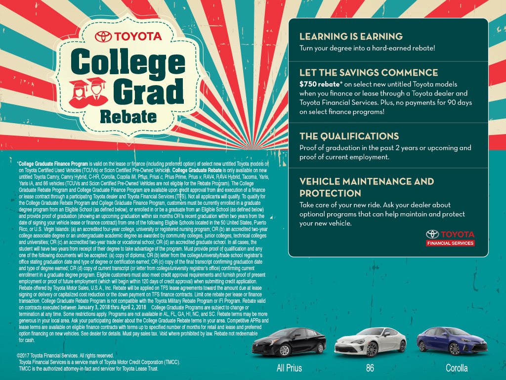 Toyota College Special