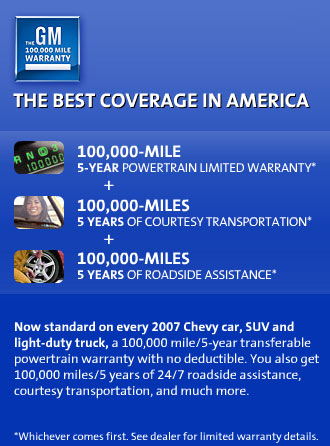 Gm Powertrain Warranty >> Gm Warranty
