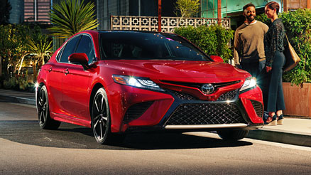 camry 3/4 front view