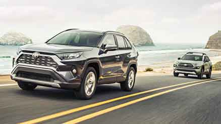 rav4 exterior front view