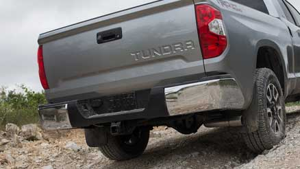 tundra rear view