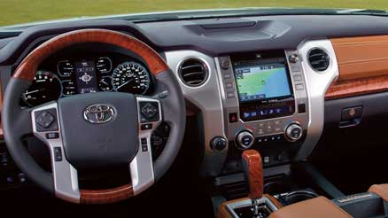 tundra steering wheel